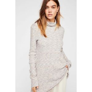 Free People We the Free Stone Cold Turtleneck Top